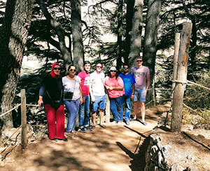 Small Group tour to Qadisha Valley, Cedars and Baalbek